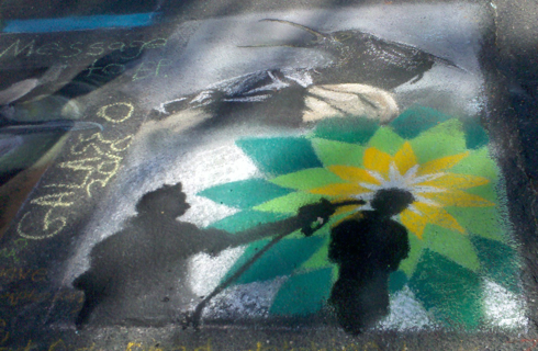 BP statement by artist anthony galasso